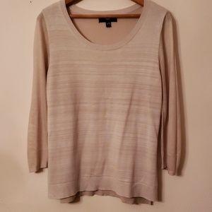 Mossimo tan sweater